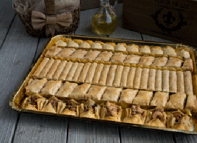 Pastries Trays and Covers