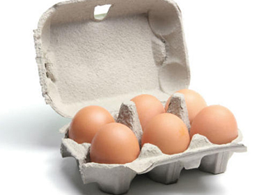 The egg trays for optimum egg protection