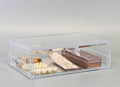 Stackable Cosmetic Tray Organizer
