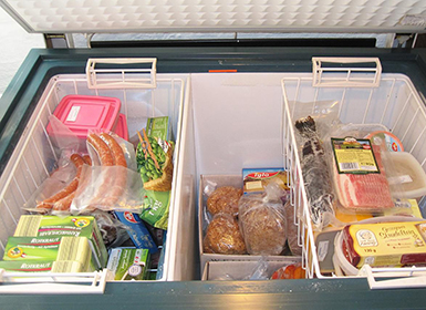 Chilled & Frozen Food Container
