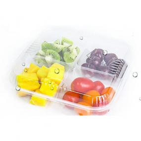 4 packs fresh fruit cutting box