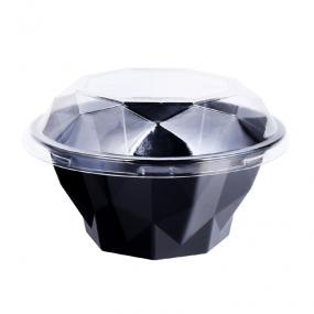 Diamon-shaped Plastic Container For Fruit