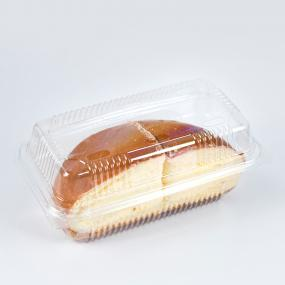 Plastic Clear Clamshell Cake Box