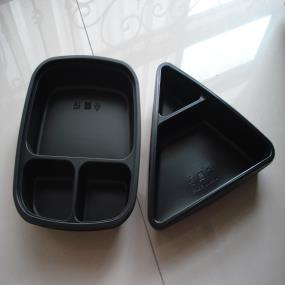 Microwavable food tray