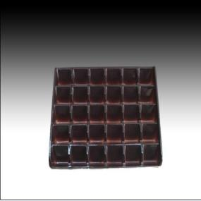 PP PET chocolate tray