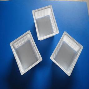 plastic tofu container/ disposable tofu box