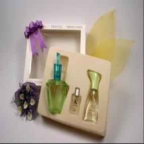 Blister tray for perfume