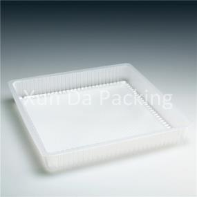 Quadrate food trays
