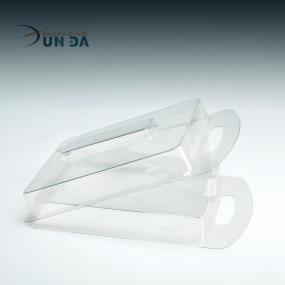 Clear Plastic Clamshell Blister Packaging With EU Hole