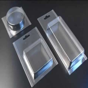 Professional Customized Plastic Clear Trifold Clamshell Blister Packaging
