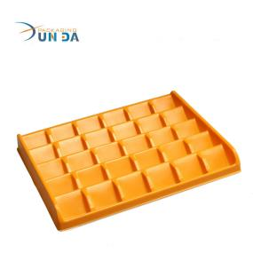 New Custom Design Disposable Plastic PS Chocolate Blister Tray