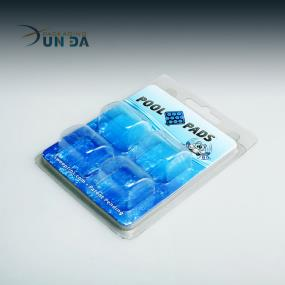 China Wholesale Plastic Slide Blister Card Packaging Clamshell Box