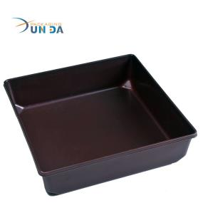 Square Airtight Vacuum Forming Plastic Food Container