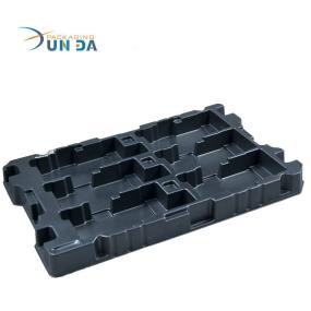 Large Antistatic Plastic Electronic Component Blister Packing Tray