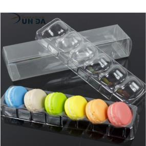 Global Wholesale Clear Plastic Macaron Packaging Display Box