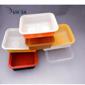 Different Sizes Blister Disposable Plastic Food Vegetable Fruit Tray