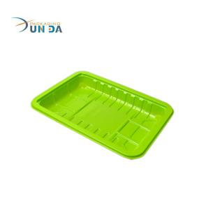 Xunda Recyclable Wholesale Green Plastic Fruit Tray Box